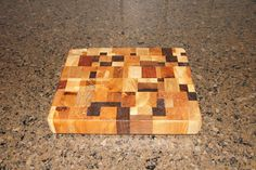 Diy WoodWorker: Scrap Wood, Hardwood, End Grain Cutting Board