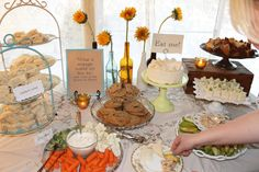 Wonderland Tea Party Bridal Shower  - Southern Vintage Wedding Rental