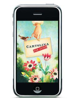 cartolina's iphone app