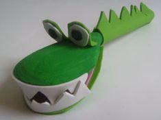 wooden spoon crocodile