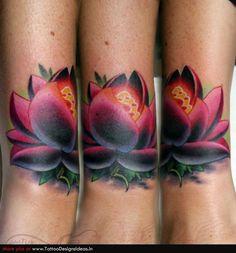 tatoos of flowers | Lotus flower tattoos ideas images | Like Tattoo