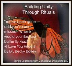 Building Classroom Unity Through Rituals