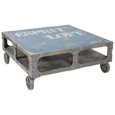 I pinned this Moe's Home Collection Loft Coffee Table from the Cari Cucksey event at Joss and Main!--Tables-Concept Candie Interiors