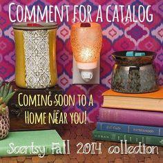 New catalogs start Sept 1st!  #earnfreescentsy #fall #winter  jesshirst.scentsy.us