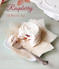 {Heavenly!} Raspberry Meringue Torte Recipe