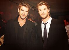"And God said, ""let there be Hemsworth brothers..."""
