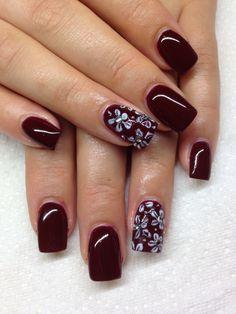 Gel nail designs on Pinterest | Gel Nail Designs, Gel Nails and Hand
