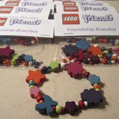 LEGO Friends Party Activity - Friendship Bracelet