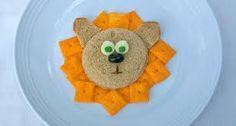 kid food, fun food, sandwiches, kid snacks, lunches, lion sandwich, lions, recip, lunch box