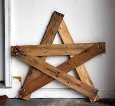decor, craft, rustic star, pallet projects, stars
