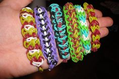 Rainbow Loom Pattern Library. This is THE mother-lode of patterns. The most I've seen compiled in one place. rainbow loom, girl, crafti, pattern librari, fun, diy, rubber band bracelet, kid, loom patterns
