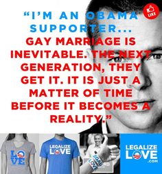 Yes, I am an Obama supporter. Support gay rights.
