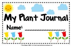 Free Printable My Plant Journal  #freeprintable
