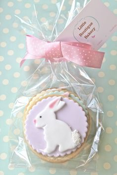 bunny cookies from l