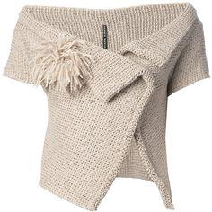 LIVIANA CONTI open neck cardigan found on Polyvore