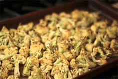 Roasted Coconut Cauliflower