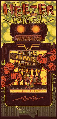 Weezer - Angels And Airwaves - Tokyo Police Club