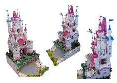 Lego Friends Castle final by fujiia, via Flickr