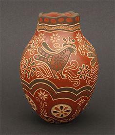 Pottery Vase by Glendora Fragua (Jemez)