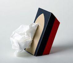 Titanic tribute tissue box. HAHA!