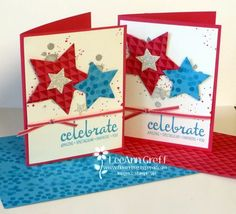 Dotty Angles Star Card