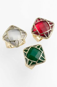 xmas cocktail rings :: festive! #AGHolidaySparkle