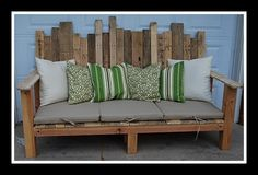 Recycling pallet projects furniture | Make Create Do