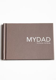 My Dad. His Stories. His Words. Interview Book 9.99