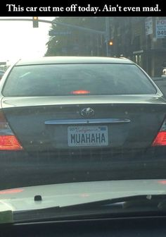 Aw man! I want that plate!