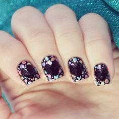 valentine by pinkandpolishednails #nail #nails #nailart