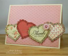 love the bordered hearts