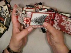 Two Mini Albums made from tp rolls