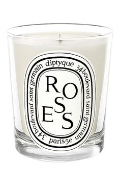 diptyque 'Roses' Scented Candle. (Love the smell of roses)