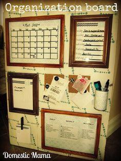 Organization board