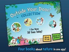 Outside Your Door! Learning Library Collection (Dr. Seuss/Cat in the Hat) - a set of 4 books from Cat in the Hat's Learning Library: I Can Name 50 Trees Today!, Fine Feathered Friends, My Oh My-A Butterfly! and Oh Say Can You Seed? Appysmarts score: 92/100