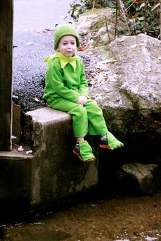 DIY Animal Costume : DIY Kermit Costume  : DIY Halloween
