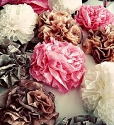 Coffee filters can be used to cover books, create flowers, and to make a variety of household decor elements. Some fun ideas from So Crafty lensmaster lbrummer can be found here: http://www.squidoo.com/coffee-filter-crafts-and-uses.