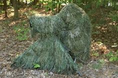 Build your own ghillie suit and be ready to hide in plain sight.