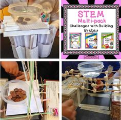 Here's  a chance to win this SPECTACULAR package of STEM challenges- all about Building Bridges! Three versions of bridge building challenges using different materials.