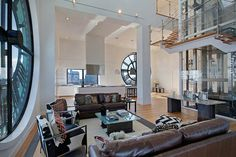 Clocktower Apartment in Brooklyn – Fubiz™