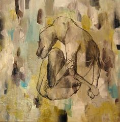 Get The Itch...painting by Katherine Bell McClure
