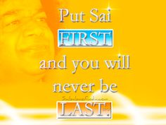 Put Sai FIRST...