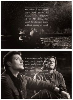 SPN: teaching us that you don't need a house to have a home since 2005. <3