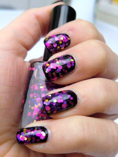 Glitter nail polish - After party by Let it glitter! @ Etsy