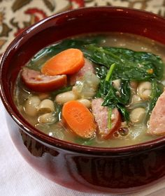 Easy Bean and Sausage Soup