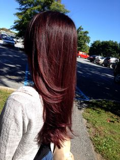 Amazing Fall Hair color!!!! Red ombré done by me ;)!!! ❤️