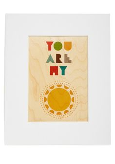 Heart and Sol Print - Multi, Novelty Print