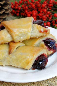 brunch, glaze cranberri, chees pastri, cranberri chees