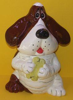 *HOUND PUPPY ~ Cookie Jar