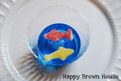 "Pirate Birthday Party: ""Shark-Infested Water"" Jello Treats"